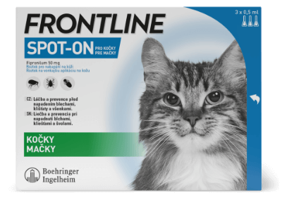 Krabička balení Frontline Spot-On